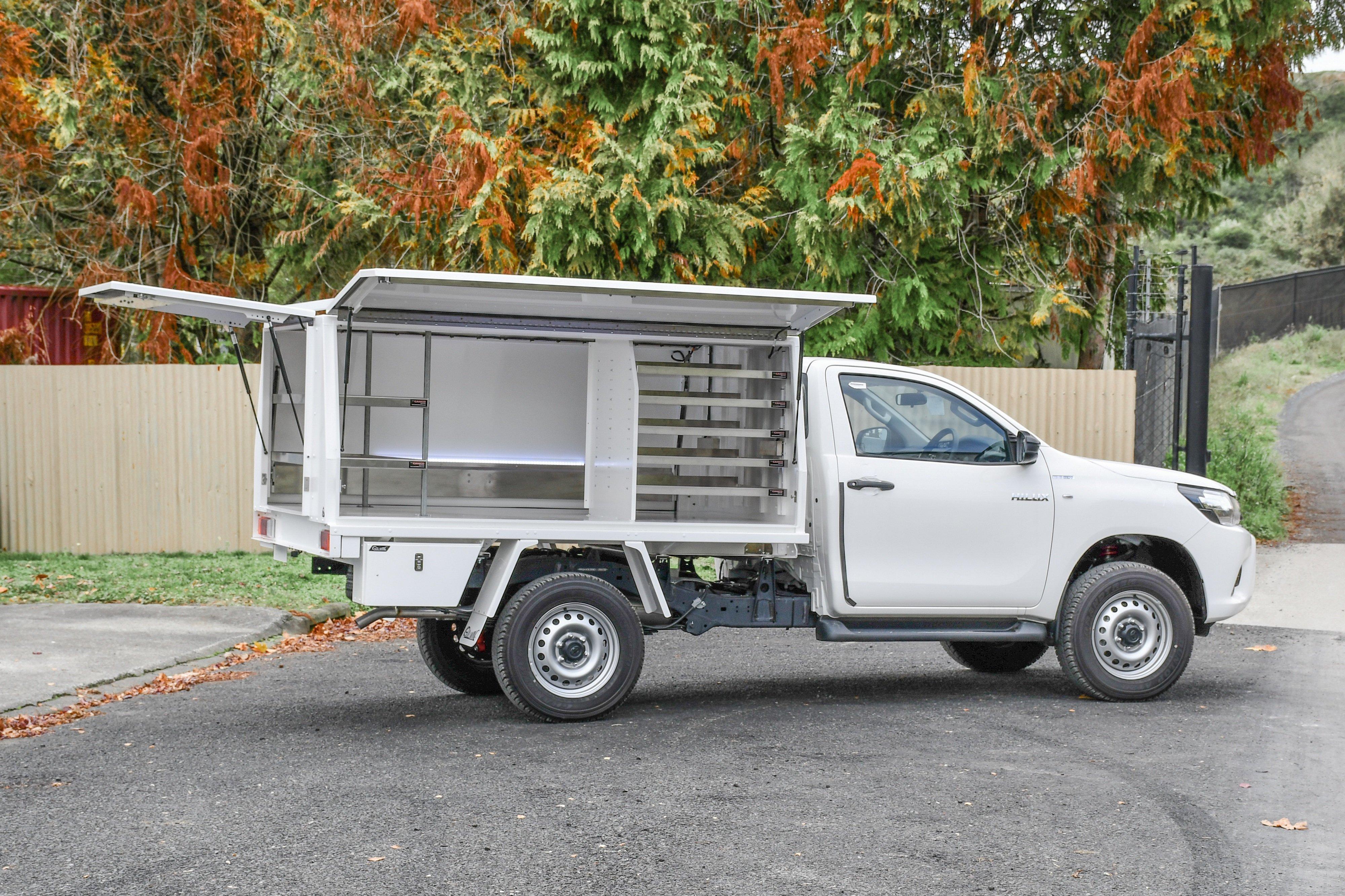 Toyota Hilux Service Body Fitouts