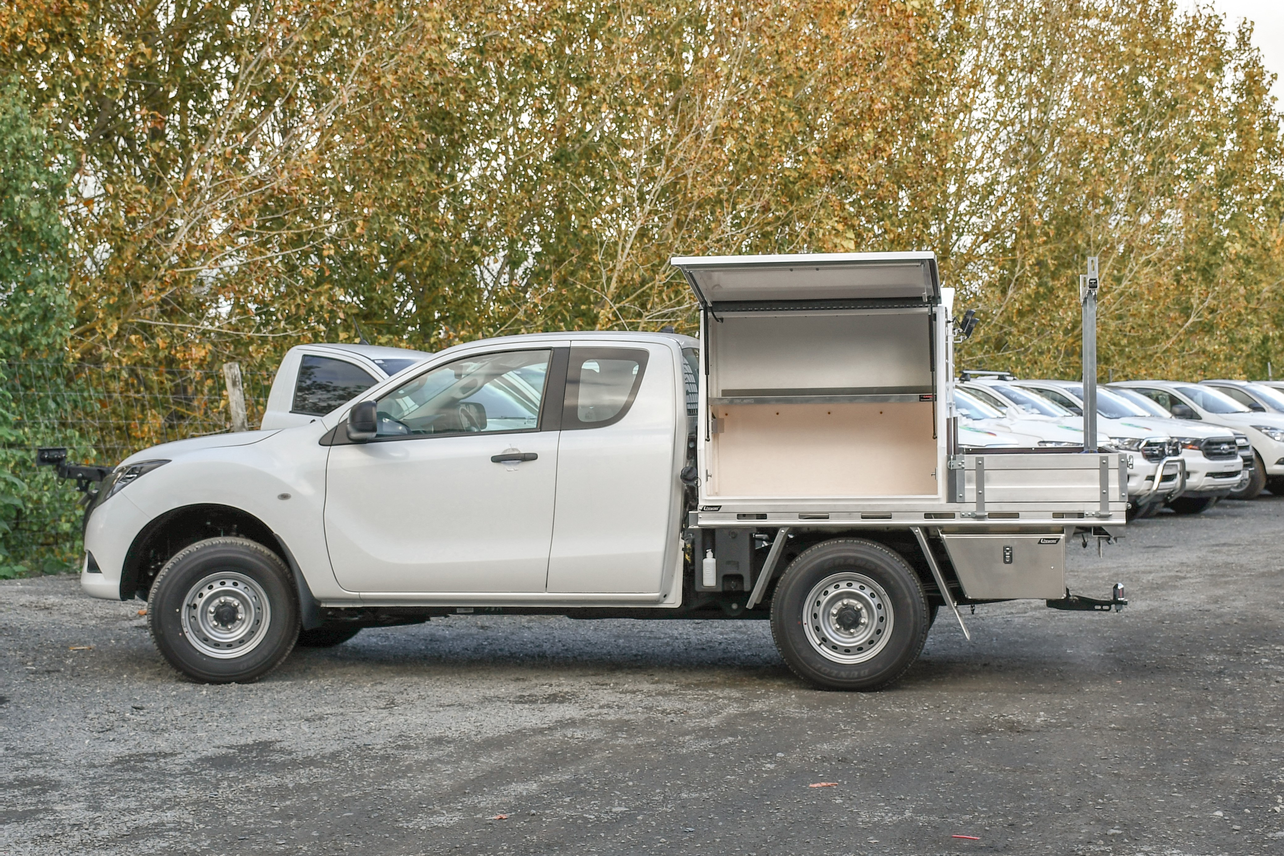Mazda BT-50 Fitouts - Flat Deck + Toolboxes