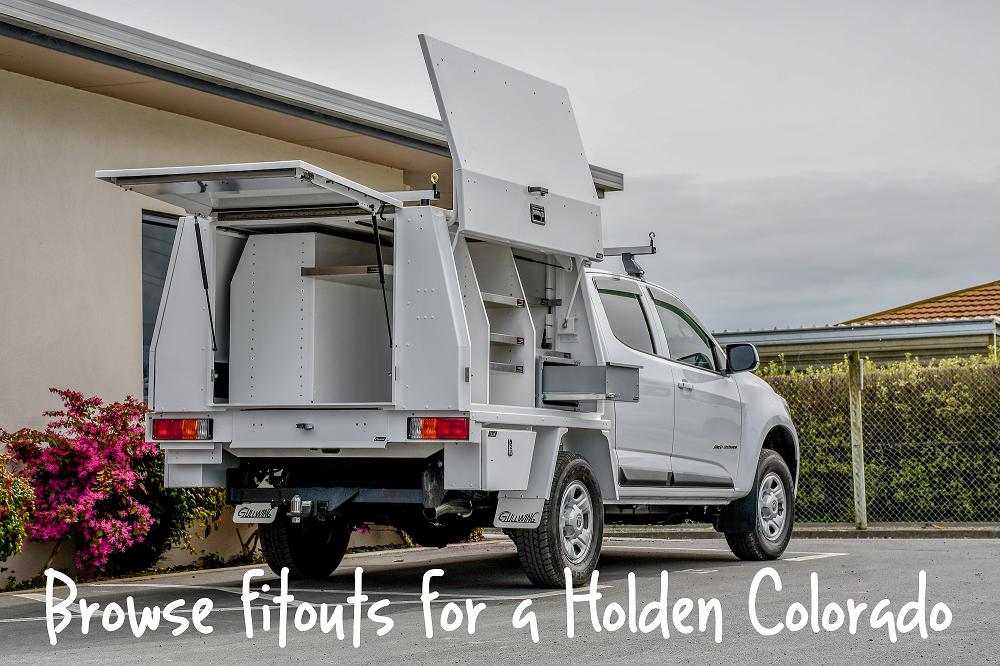 Holden Colorado Fitouts