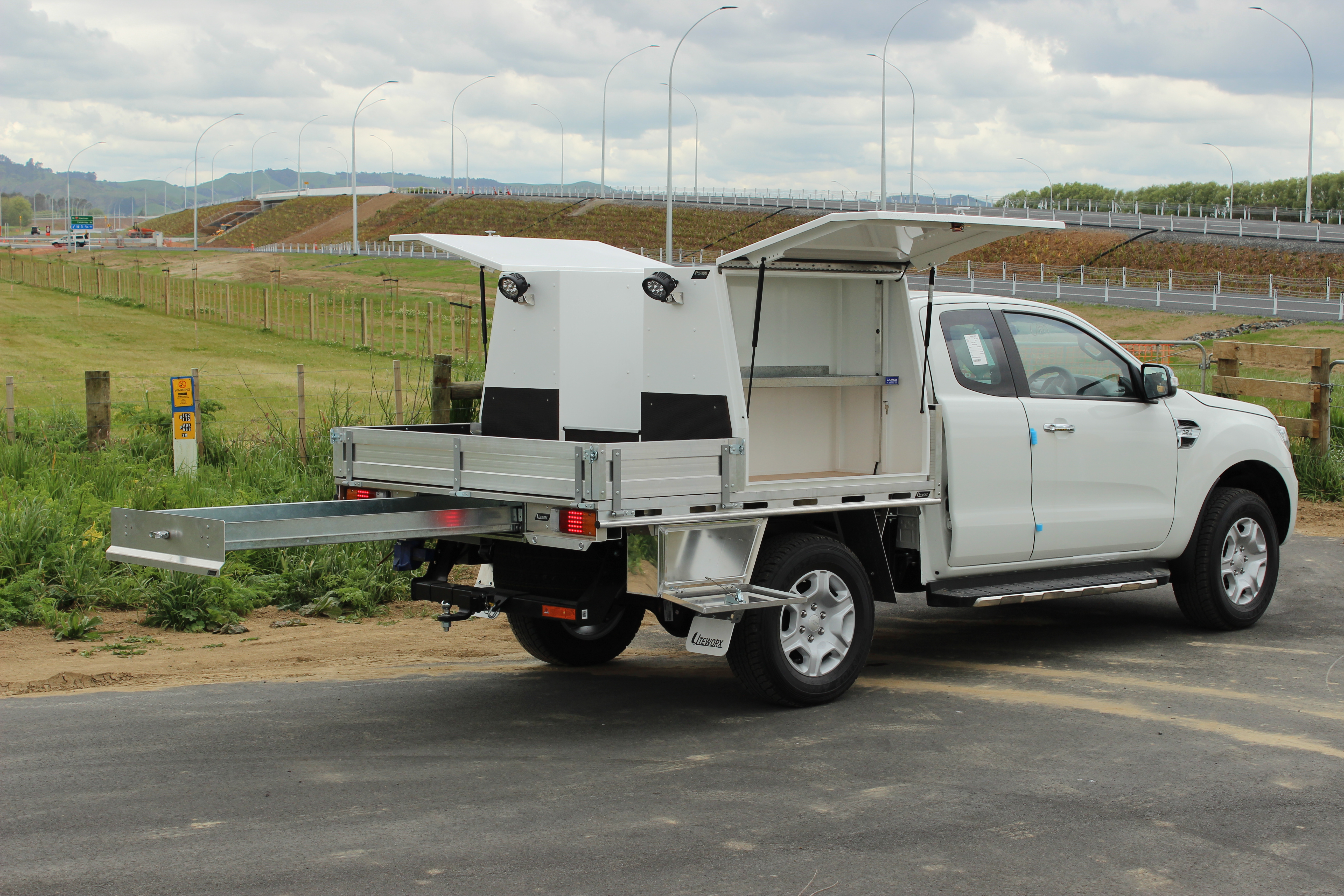 Ford Ranger Fitout -  Flat Deck and Toolboxes