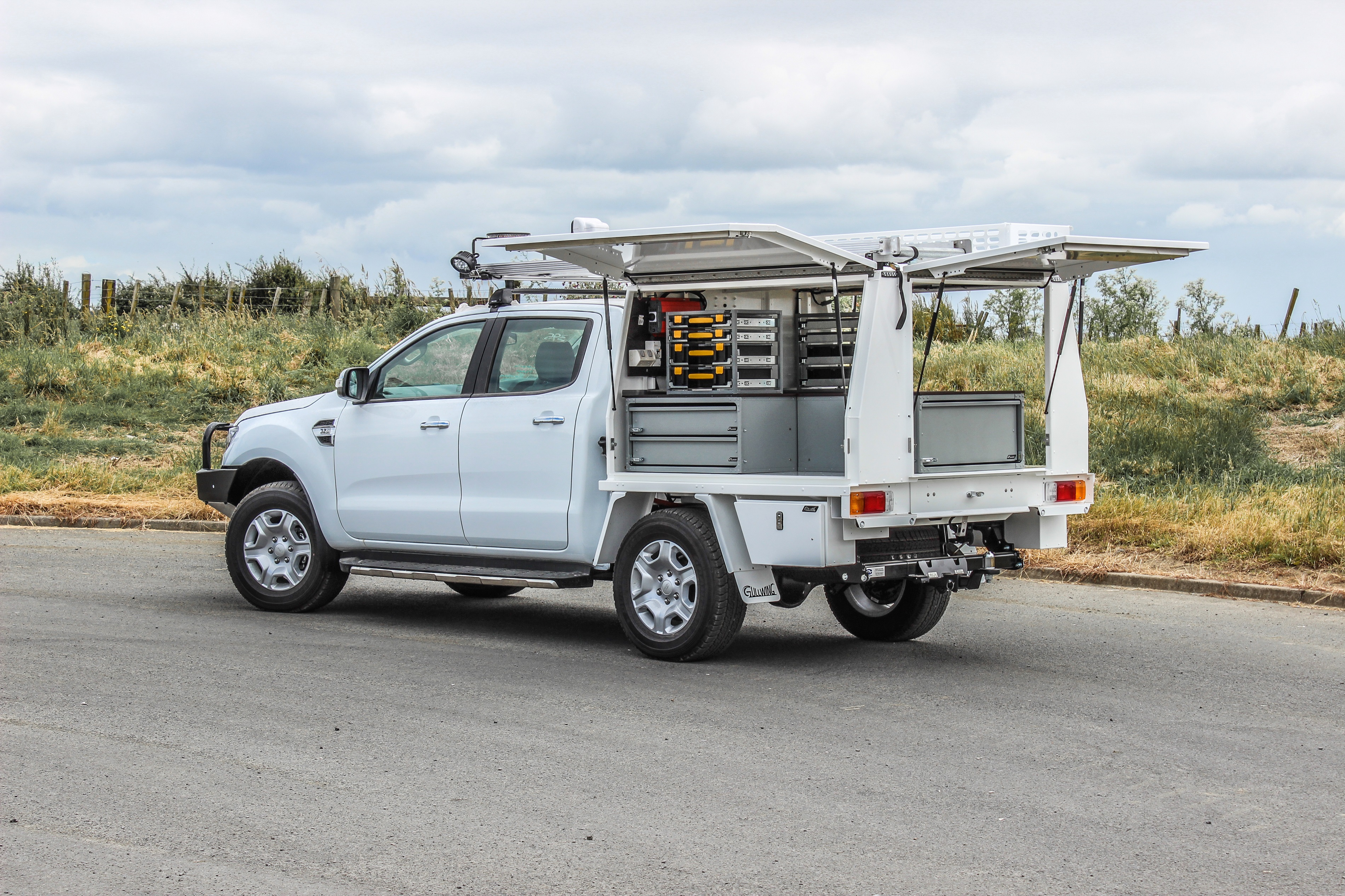 Ford Ranger Fitout | Line Mechanic Fitout